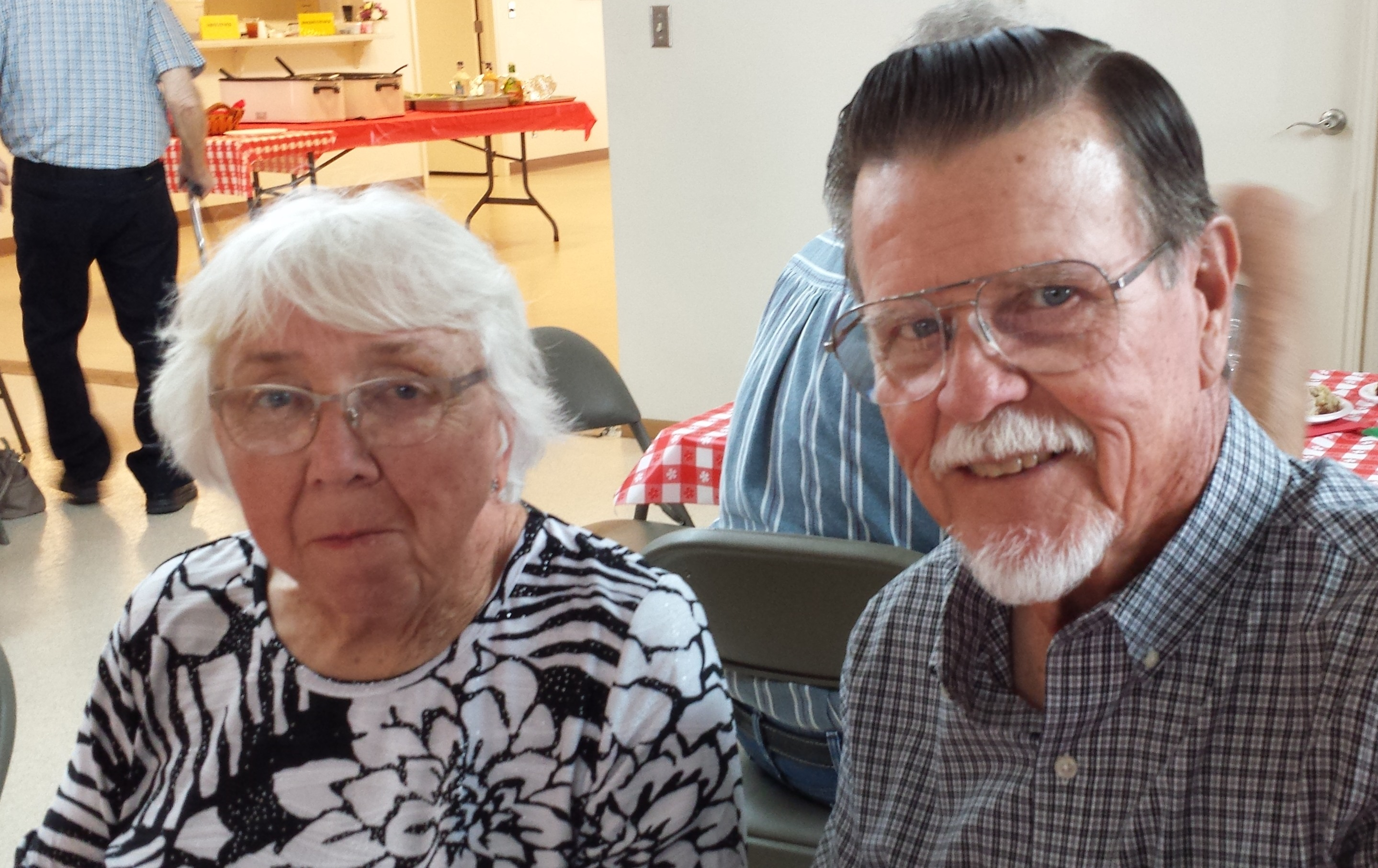 Joy and Melvin married 58 years